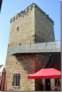 Veldenz Wanderweg Ausbacherhof-Lauterecken: Wasserburg, der Turm