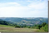 Veldenz Wanderweg Ausbacherhof-Lauterecken: Blick auf Lauterecken