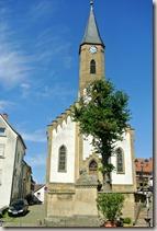 Veldenz Wanderweg Ausbacherhof-Lauterecken: Kirche in Lauterecken