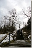 Rhön Kreuzbergtour 2016 - Treppe zum Gipfel