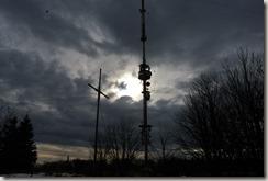Rhön Kreuzbergtour 2016 - Antenne - Gegenlichtaufnahme
