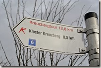 Rhön Kreuzbergtour 2016 - Wegweiser