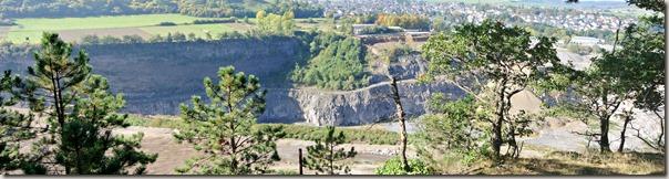 Traumpfad Vulkanpfad 2015 - Panorama Grube