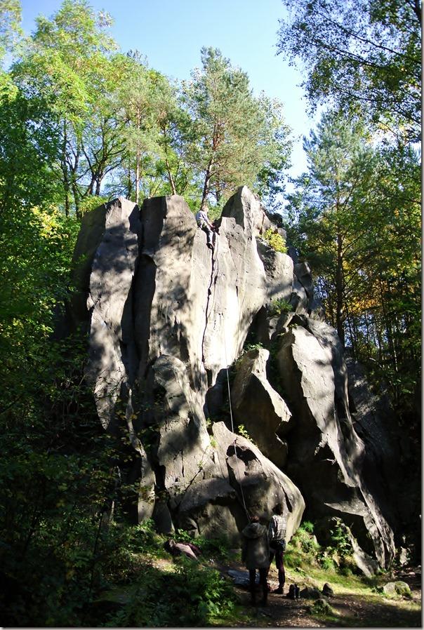 Traumpfad Vulkanpfad 2015 - Basaltwand