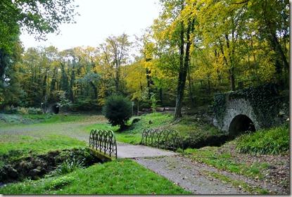 Traumschleife Marienberg - Brücken im Park