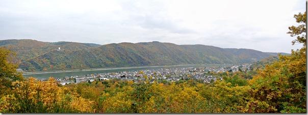 Traumschleife Marienberg - Blick ins Rheintal