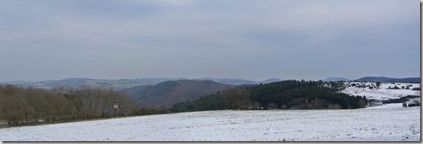 Traumpfad Wacholderweg - Hügellandschaft der Eifel