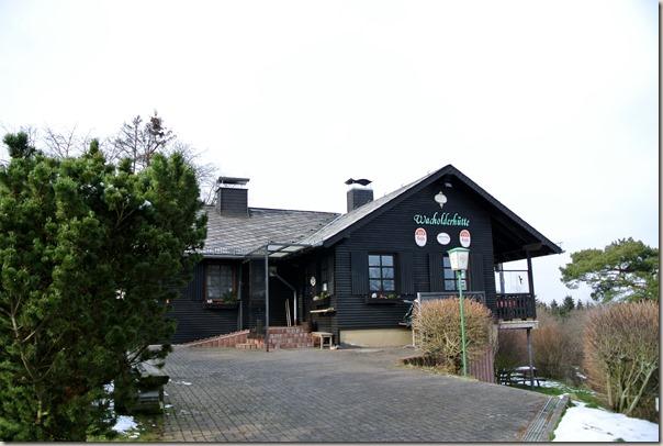 Traumpfad Wacholderweg - die Wacholderhütte