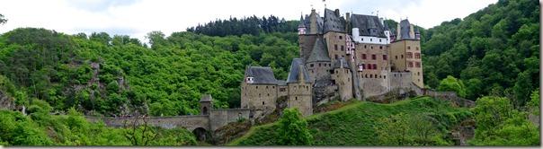 Burg Eltz Traumpfad Eltzer Burgpanorama - Großansicht