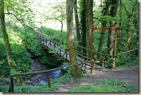 Traumpfad Höhlen- und Schluchtensteig - Brücke m Pöntertal