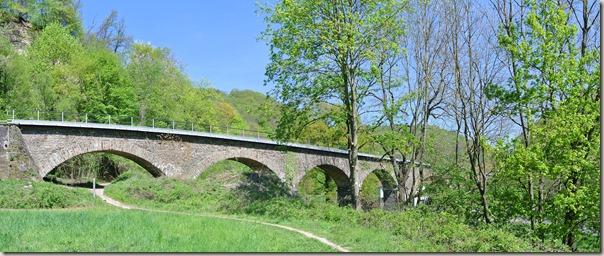 Traumpfad Höhlen- und Schluchtensteig - Eisenbahnviadukt