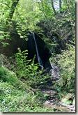 Traumpfad Höhlen- und Schluchtensteig - der Wasserfall der Wolfsschlucht