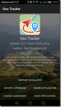 Geo Tracker - Screenshot 7