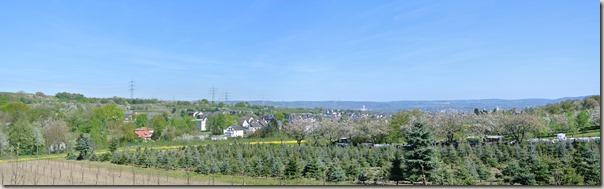 Streuobstwiesenweg - Panorama Kettig