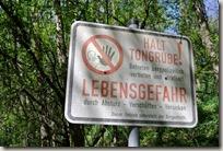 Streuobstwiesenweg - In der Nähe der Tongrube
