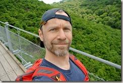Geierlay - Selfie auf der Brücke