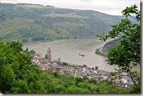 Schwede-Bure-Tour - der Rhein bei Oberwesel