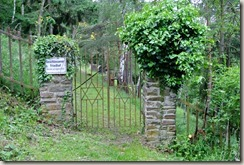 Schwede-Bure-Tour - Eingang jüdischer Friedhof
