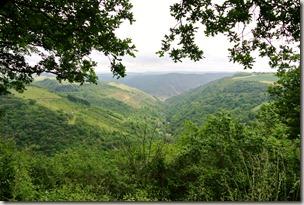 Schwede-Bure-Tour - Blick ins Tal