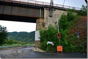 Calmont Klettersteig - Eisenbahnbrücke