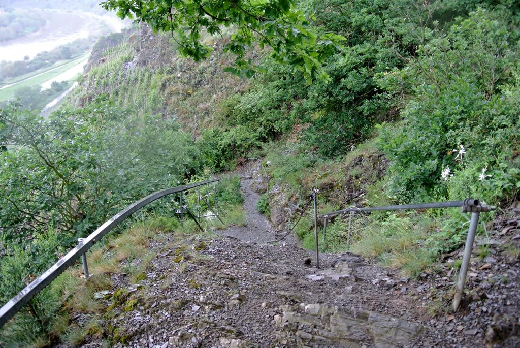 Klettersteig Mosel : Calmont klettersteig u winni´s