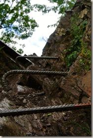 Calmont Klettersteig - Steigeisen