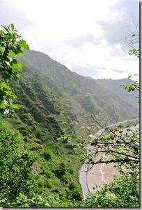 Calmont Klettersteig - Moselblick