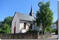 Moselsteig Etappe 1 - Kapelle in Wochern