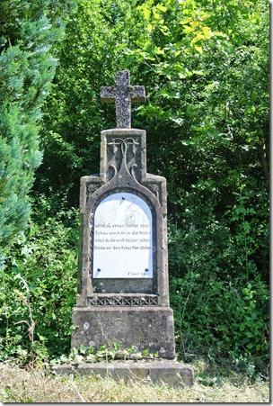Moselsteig Palzem - Nittel - Wegekreuz