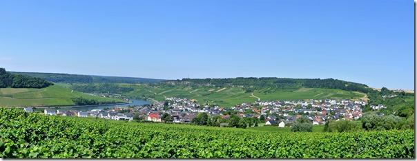 Moselsteig Palzem - Nittel - Panorama
