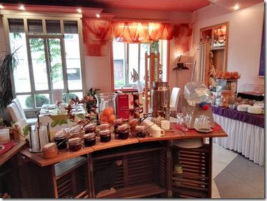 Moselsteig–Etappe 3: Nittel–Konz - Frühstücksraum