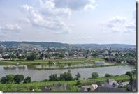 Moselsteig Konz - Trier - Blick auf Trier