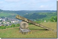 Moselsteig–Etappe 3: Nittel–Konz - Kunst am Wegesrand