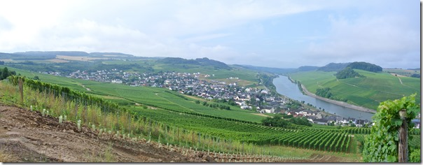 Moselsteig–Etappe 3: Nittel–Konz - Panorama Nittel