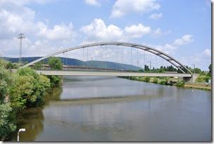 Moselsteig–Etappe 3: Nittel–Konz - Brücke über die Saar