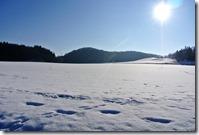 Laacher See - Schnee und Sonne