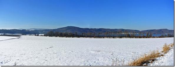 Laacher See - im Winter erstarrt