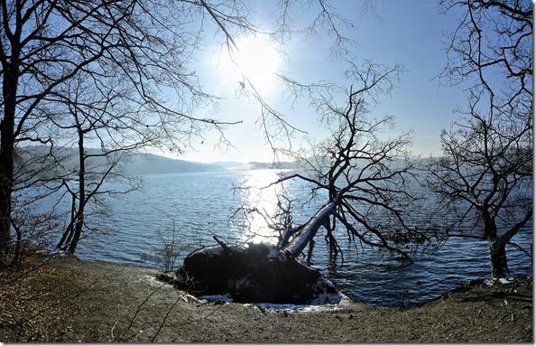 Laacher See - umgefallen