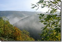 Traumpfad Bleidenberger Ausblicke - Nebel im Tal