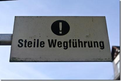 Traumpfad Bleidenberger Ausblicke - Steile Streckenführung
