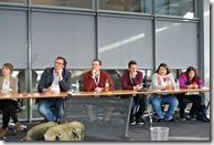 BarCamp Bonn 2017 -  Teilnehmer bei Mobilitätsapp