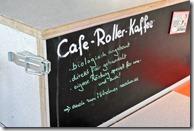 BarCamp Bonn 2017 - Cafe Roller Schild