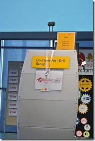 BarCamp Bonn 2017 - Rednerpult leer