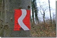 Fürstenweg -  Wegmarkierung