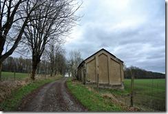 Fürstenweg -  Scheune am Wegesrand