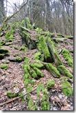 Fürstenweg -  Steinformation
