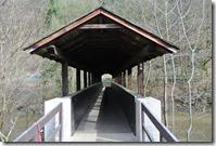 Fürstenweg -  Überdachte Brücke