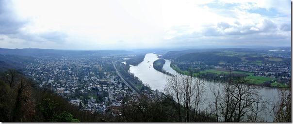 Rheinsteig (Königswinter - Bad Honnef) - Blick ins Tal