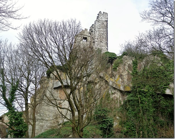 Rheinsteig (Königswinter - Bad Honnef) - die Ruine