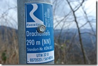 Rheinsteig (Königswinter - Bad Honnef) - Wegelogo